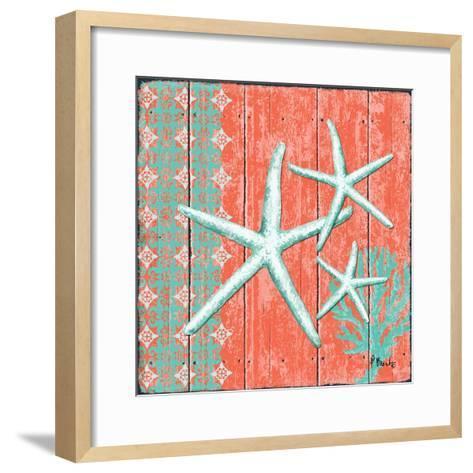 Coral Sea III-Paul Brent-Framed Art Print