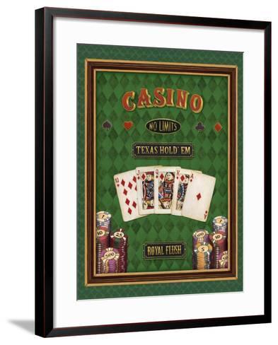 Texas Hold 'Em-Daphne Brissonnet-Framed Art Print