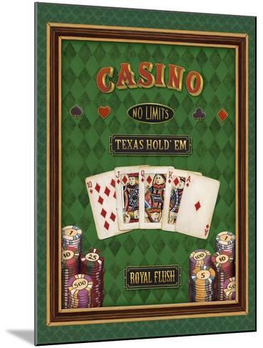 Texas Hold 'Em-Daphne Brissonnet-Mounted Art Print