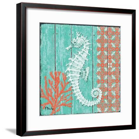 Coral Sea IV-Paul Brent-Framed Art Print