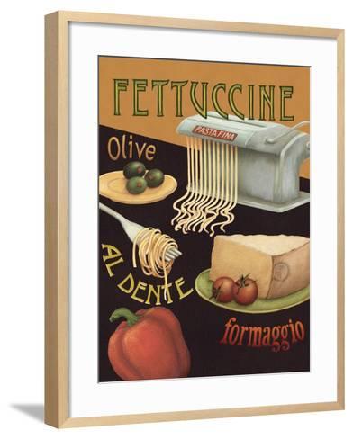 Fettuccine-Daphne Brissonnet-Framed Art Print
