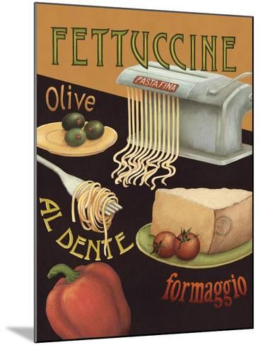 Fettuccine-Daphne Brissonnet-Mounted Art Print