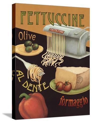 Fettuccine-Daphne Brissonnet-Stretched Canvas Print