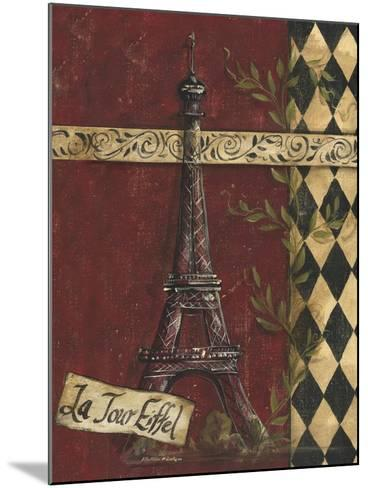 La Tour Eiffel-Kate McRostie-Mounted Art Print