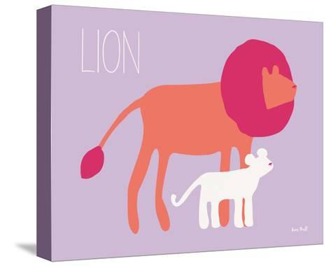 Pink Zoo II-Kris Ruff-Stretched Canvas Print