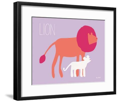 Pink Zoo II-Kris Ruff-Framed Art Print