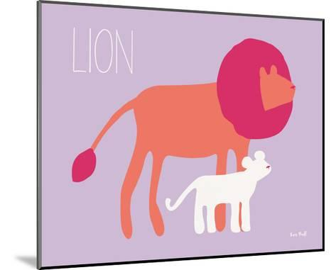 Pink Zoo II-Kris Ruff-Mounted Art Print