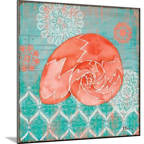 Coral Cove Shells III-Paul Brent-Mounted Art Print