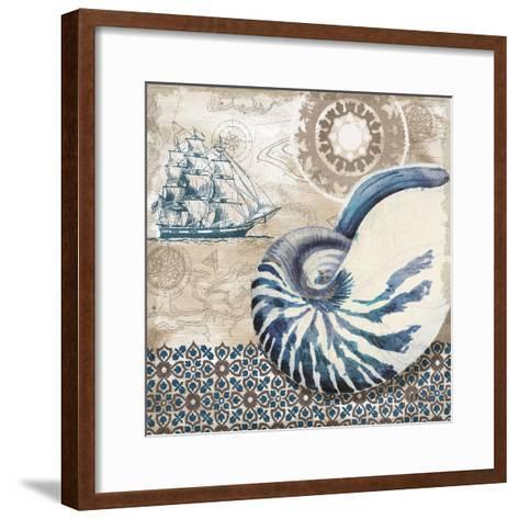Tide Pool Shells I-Paul Brent-Framed Art Print
