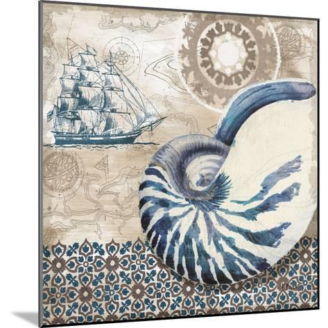 Tide Pool Shells I-Paul Brent-Mounted Art Print