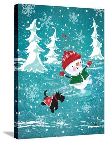 Frosty & Fab I-Teresa Woo-Stretched Canvas Print