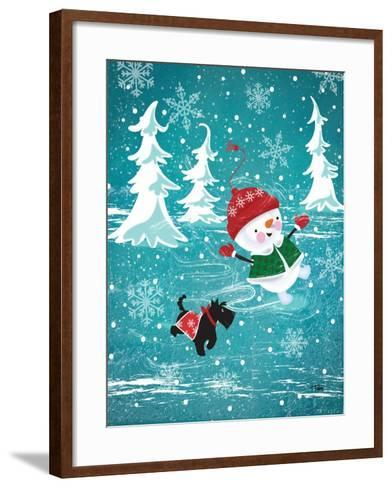 Frosty & Fab I-Teresa Woo-Framed Art Print