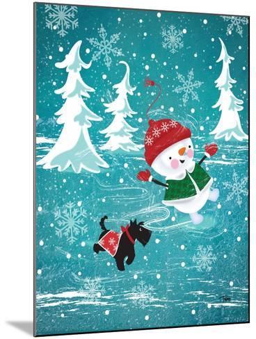 Frosty & Fab I-Teresa Woo-Mounted Art Print
