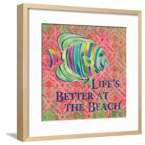 Kailua Cove III-Paul Brent-Framed Art Print