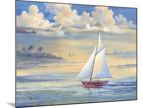 Bay of Palms-Paul Brent-Mounted Art Print