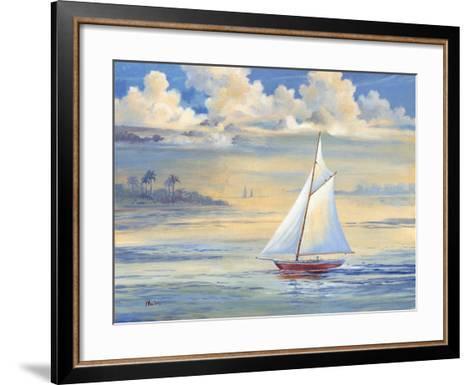 Bay of Palms-Paul Brent-Framed Art Print