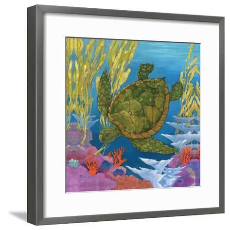 Under the Sea II-Paul Brent-Framed Art Print