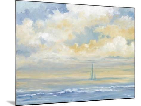 Misty Morning Sail-Paul Brent-Mounted Art Print
