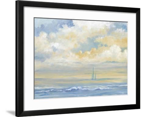 Misty Morning Sail-Paul Brent-Framed Art Print