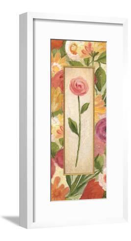 Sweet Romance Panel II-Daphne Brissonnet-Framed Art Print