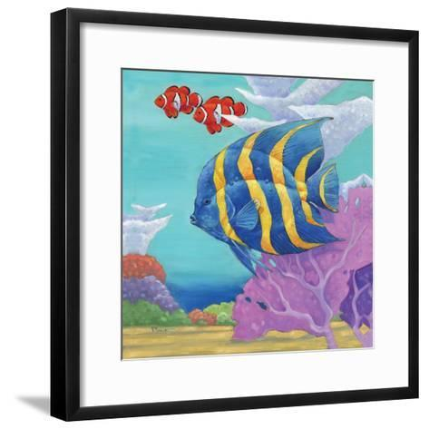 Under the Sea IV-Paul Brent-Framed Art Print