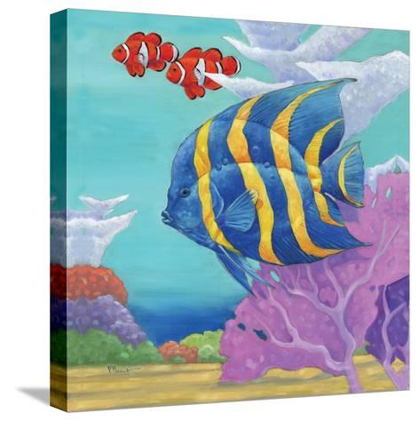 Under the Sea IV-Paul Brent-Stretched Canvas Print
