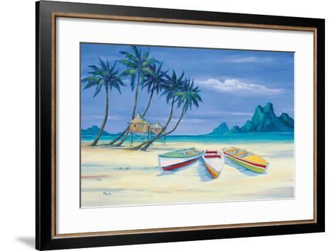 Archipelago II-Paul Brent-Framed Art Print
