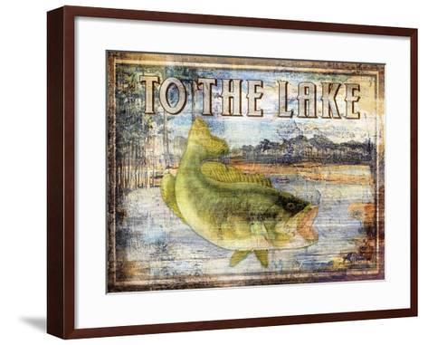 To the Lake-Paul Brent-Framed Art Print