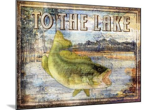To the Lake-Paul Brent-Mounted Art Print