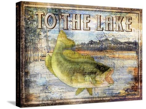 To the Lake-Paul Brent-Stretched Canvas Print