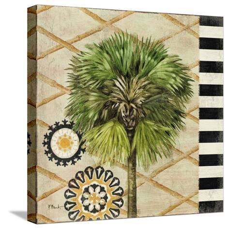 Knox Palm Tree II-Paul Brent-Stretched Canvas Print