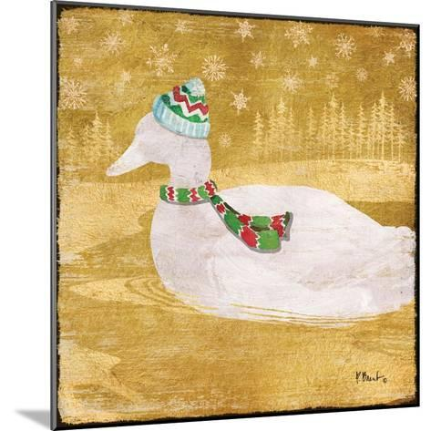 Gold Holiday III-Paul Brent-Mounted Art Print