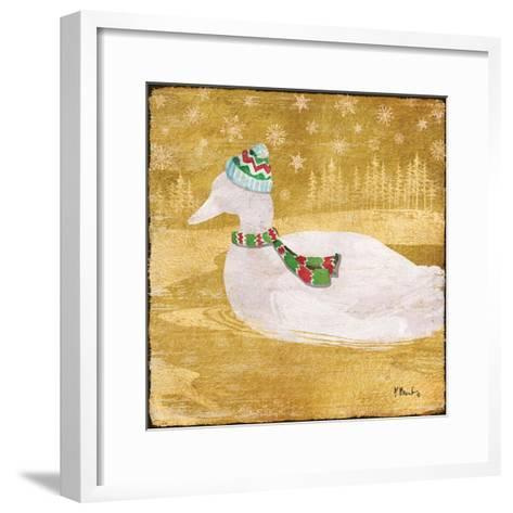 Gold Holiday III-Paul Brent-Framed Art Print