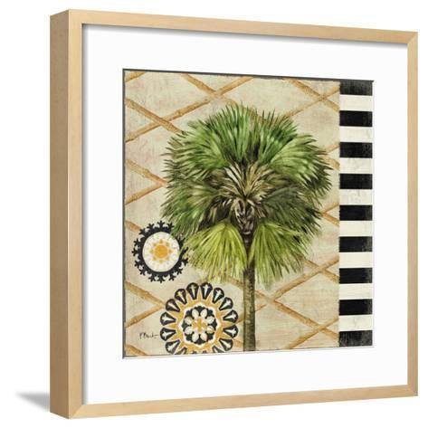 Knox Palm Tree II-Paul Brent-Framed Art Print