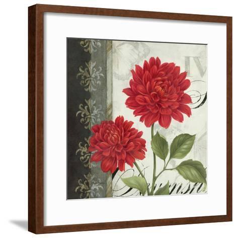 Etude en Rouge I-Pamela Gladding-Framed Art Print