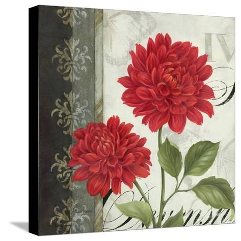 Etude en Rouge I-Pamela Gladding-Stretched Canvas Print
