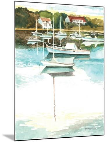Wychmere Harbor-Gregory Gorham-Mounted Art Print