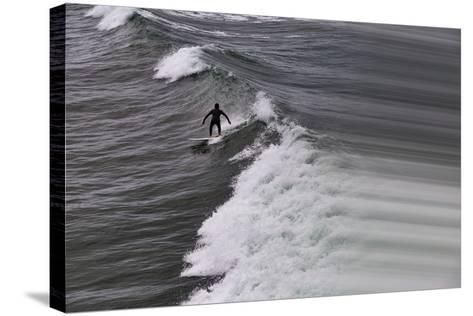 Oceanside Surf I-Lee Peterson-Stretched Canvas Print