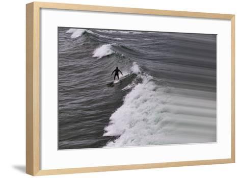 Oceanside Surf I-Lee Peterson-Framed Art Print