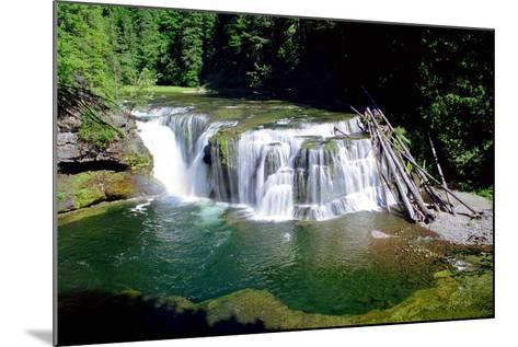 Lewis River Lower Falls-Douglas Taylor-Mounted Photo
