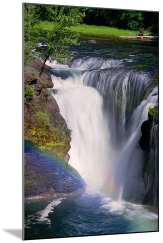 Lewis River Falls-Douglas Taylor-Mounted Photo