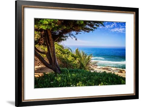 Del Mar Beach I-Alan Hausenflock-Framed Art Print