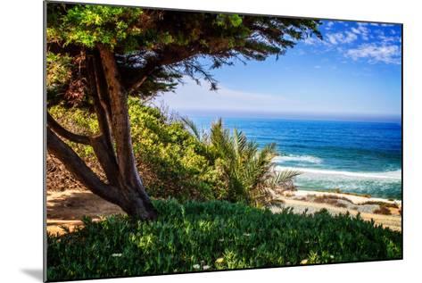 Del Mar Beach I-Alan Hausenflock-Mounted Photo