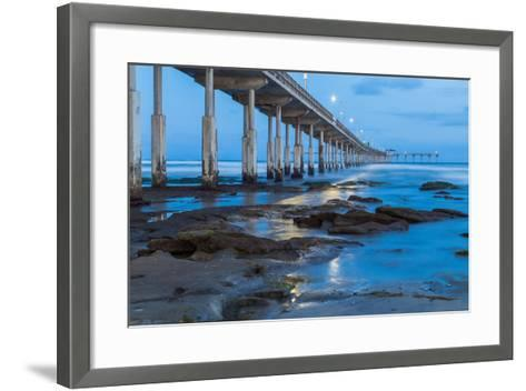 Evening Pier II-Lee Peterson-Framed Art Print