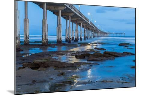 Evening Pier II-Lee Peterson-Mounted Photo