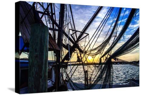 Beaufort Docks II-Alan Hausenflock-Stretched Canvas Print