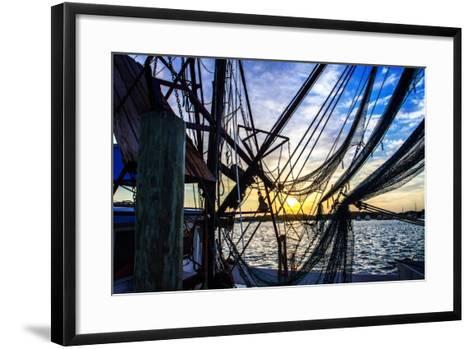Beaufort Docks II-Alan Hausenflock-Framed Art Print