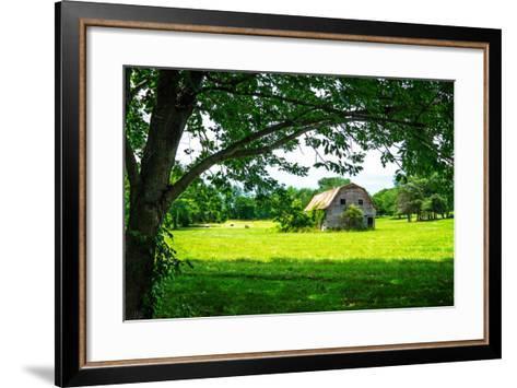 Old Dutch Barn-Alan Hausenflock-Framed Art Print