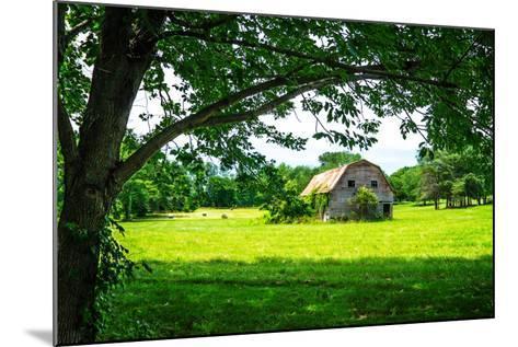 Old Dutch Barn-Alan Hausenflock-Mounted Photo