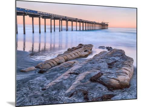 Scripps Pier III-Lee Peterson-Mounted Photo